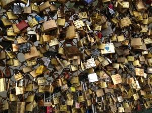 låse symbol på evig kærlighed